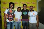 Purab Kohli, Onir, Rahul Bose, Arjun Mathur at Radio Mirchi studio in Lower Parel on 28th April 2011 (5).JPG