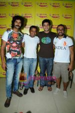 Purab Kohli, Onir, Rahul Bose, Arjun Mathur at Radio Mirchi studio in Lower Parel on 28th April 2011 (7).JPG