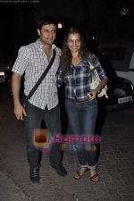Shweta Kawatra, Manav Gohil at Stanley Ka Dabba screening hosted by Shaina NC in Ketnav, Mumbai on 11th May 2011 (2).JPG