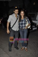 Shweta Kawatra, Manav Gohil at Stanley Ka Dabba screening hosted by Shaina NC in Ketnav, Mumbai on 11th May 2011 (5).JPG