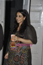 Vidya Balan at Sujoy Ghosh_s Kahaani photoshoot in Mehboob Studio, Mumbai on 13th May 2011.JPG