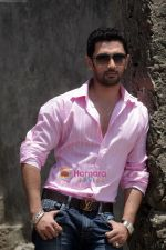 Chirag Paswan Shoots for his debut film One and Only in Bandra Fort on 15th May 2011 (2).jpg