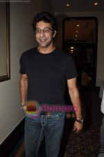 Wasim Akram at Harsha Bhogle_s book launch in Trident, Mumbai on 23rd May 2011 (2).JPG