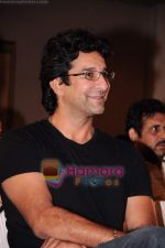 Wasim Akram at Harsha Bhogle_s book launch in Trident, Mumbai on 23rd May 2011 (5).JPG