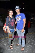 Soha Ali Khan, Kunal Khemu before the Kunfu Panda show in Cinemax on 26th May 2011 (7).JPG