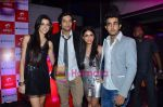 Giselle Monteiro, Ali Fazal, Zoa Morani, Satyajeet Dubey at Always Kabhi Kabhi bash in association with Iphone 4 in Vie Lounge on 26th May 2011 (3).JPG