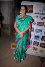Usha Nadkarni on the sets of Comedy Circus in Mohan Studio on 31st May 2011 (2).JPG