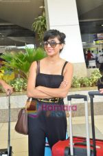 Nadia Ali Grammy nominated International singer arrives in Mumbai on 1st June 2011 (10).JPG