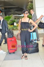 Nadia Ali Grammy nominated International singer arrives in Mumbai on 1st June 2011 (4).JPG