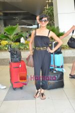 Nadia Ali Grammy nominated International singer arrives in Mumbai on 1st June 2011 (5).JPG