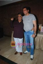 Mukesh Rishi, Anjan Shrivastava at Anjan Shrivastava_s birthday bash celebrated after 57 years with media in Raheja Classique on 2nd June 2011 (3).JPG