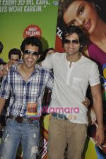 Satyajeet Dubey, Ali Fazal at Always Kabhi Kabhi promotions in Mannat, Bandra, Mumbai on 7th June 2011 (2).JPG