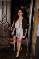 Masaba at Sonam Kapoor_s birthday bash at her home on 8th June 2011 (2).JPG