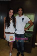 Giselle Monteiro, Ali Fazal at Gitanjali D_damas new collection launch in Atria Mall on 15th June 2011 (21).JPG