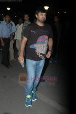 Sajid Wajid leave for IIFA in Mumbai Airport on 21st June 2011 (68).JPG
