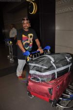 Sajid Wajid leave for IIFA in Mumbai Airport on 21st June 2011 (92).JPG