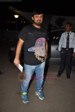 Sajid Wajid leave for IIFA in Mumbai Airport on 21st June 2011 (93).JPG