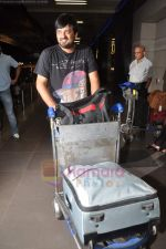 Sajid Wajid leave for IIFA in Mumbai Airport on 21st June 2011 (95).JPG