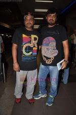 Sajid Wajid leave for IIFA in Mumbai Airport on 21st June 2011 (96).JPG