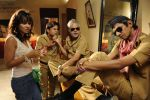 Priyanka Kothari, Rajpal Yadav, Sanjay Mishra, Vijay Raaz in Still from the movie Bin Bulaye Baraati.jpg