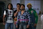 Ritesh, Aashish, Arshad, Javed Jaffery in the still from movie Double Dhamaal (1).JPG