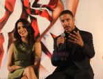 Brian J. White, Mallika Sherawat at the press conference of film POLITICS OF LOVE in Burbank, Calif., June 22, 2011 (4).JPG