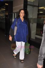Hema Malini return from Toronto in Mumbai Airport on 27th June 2011 (87).JPG