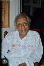 Chandrashekhar celebrate his 89th Birthday at his residence on 7th July 2011 (29).JPG