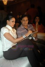 Neha Dhupia, Jagjit Singh at the music lauch of film Gandhi To Hitler in The Club on 12th July 2011 (22).JPG