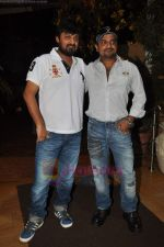 Sajid, Wajid at Chala Mussadi Office Office film trailer launch in Andheri on 12th July 2011 (3).JPG