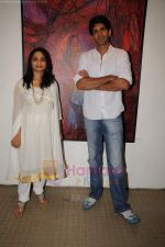 Rahul Singh at Reka Rana_s art exhibition in Jehangir on 13th JUly 2011 (22).JPG