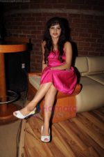 Poonam Rajput at Milta Hai Chance by Chance music launch in Marimba Lounge on 15th July 2011 (2).JPG