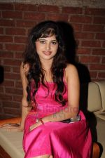 Poonam Rajput at Milta Hai Chance by Chance music launch in Marimba Lounge on 15th July 2011 (4).JPG
