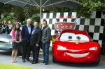 Denise Ream, Michael Caine, John Lasseter and Jason Isaacs at Cars 2 UK Premiere Pre-Party Celebration - Arrivals in Whitehall Gardens on July 17th 2011.jpg