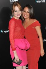 Emma Stone and Mila Kunis attend the Friends With Benefits New York Premiere at the Ziegfeld Theater, New York, NY  United States on 18th July 2011 (11).jpg