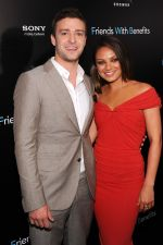 Justin Timberlake and Mila Kunis attend the Friends With Benefits New York Premiere at the Ziegfeld Theater, New York, NY  United States on 18th July 2011 (10).jpg
