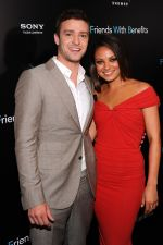 Justin Timberlake and Mila Kunis attend the Friends With Benefits New York Premiere at the Ziegfeld Theater, New York, NY  United States on 18th July 2011 (16).jpg