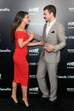 Justin Timberlake and Mila Kunis attend the Friends With Benefits New York Premiere at the Ziegfeld Theater, New York, NY  United States on 18th July 2011 (8).jpg