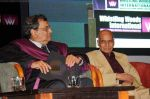 Khayyam, Subhash Ghai at Whistling Woods 4th convocation ceremony in St Andrews on 18th July 2011 (42).JPG