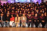 Yash Chopra, Khayyam, Subhash Ghai at Whistling Woods 4th convocation ceremony in St Andrews on 18th July 2011 (20).JPG