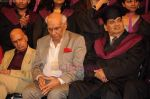 Yash Chopra, Khayyam, Subhash Ghai at Whistling Woods 4th convocation ceremony in St Andrews on 18th July 2011 (3).JPG