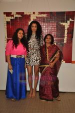 Kanishta Dhanker at Jayashree Salecha and Tanumansa Bagrodia art exhibition in Jehangir Art Gallery on 19th July 2011 (103).JPG