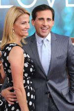 Steve Carell and wife Nancy Carell at the New York premiere of the movie Crazy, Stupid, Love at the Ziegfeld Theatre on 19th July 2011.jpg
