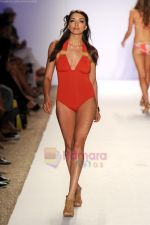 A model walks the runway at the Jogo Beach show during Merecedes-Benz Fashion Week Swim 2012 on July 18, 2011 in Miami Beach, United States (5).JPG
