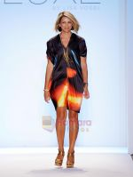 Designer Lisa Vogel walks the runway during the Luxe By Lisa Vogel show at Mercedes-Benz Fashion Week Swim 2012 at The Raleigh Hotel on July 17, 2011 in Miami Beach, Florida.JPG