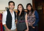 Nakul Mehta,Janki  Kalpana Goenka at the launch of Designer Pallavi Goenka_s the new festive  collections in Mumbai on 20th July 2011.JPG