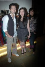 Nakuul Mehta at the launch of Designer Pallavi Goenka_s the new festive  collections in Mumbai on 20th July 2011 (39).JPG