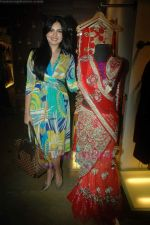 Niharika at the launch of Designer Pallavi Goenka_s the new festive  collections in Mumbai on 20th July 2011 (37).JPG