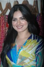 Niharika at the launch of Designer Pallavi Goenka_s the new festive  collections in Mumbai on 20th July 2011 (41).JPG