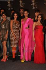 Sophie, Neha Dhupia, Amisha Patel at Blenders Pride fashion tour announcement in Tote, Mumbai on 20th July 2011 (43).JPG